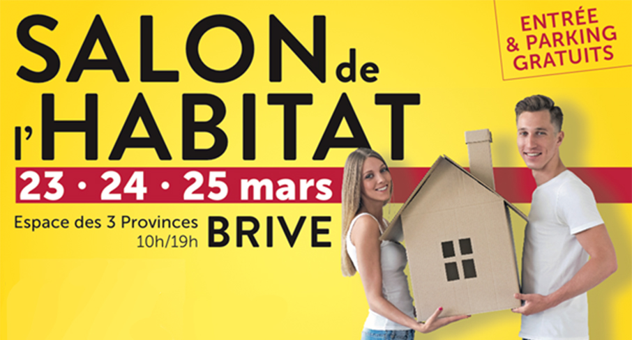 Nouvelle aquitaine action logement sera pr sent au salon for Salon de l habitat brive