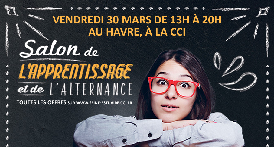 Rendez vous au salon de l apprentissage le 30 mars au for Salon de l apprentissage