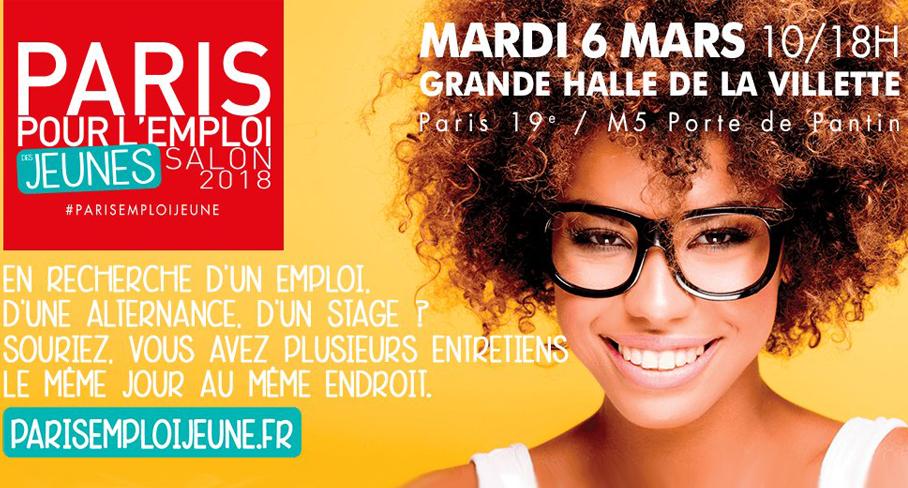 Action logement salon paris pour l emploi des jeunes for Salon de l emploi paris
