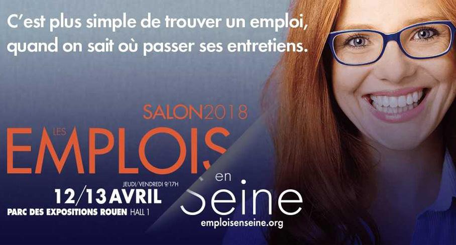 Normandie rendez vous au salon emplois en seine rouen for Salon emploi rouen