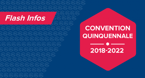 Convention quinquennale 2018-2022