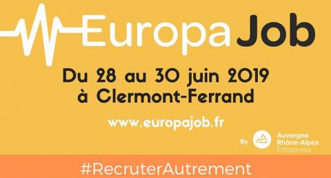 Europajob Clermont Ferrand 28 au 30 juin