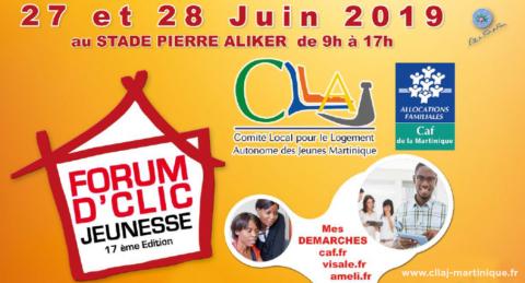 Forum D'Clic jeunesse le 27 et 28 juin à Dillon