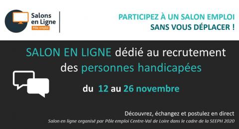 Centre-Val de Loire : Action Logement partenaire du salon pour l'emploi des personnes handicapées.
