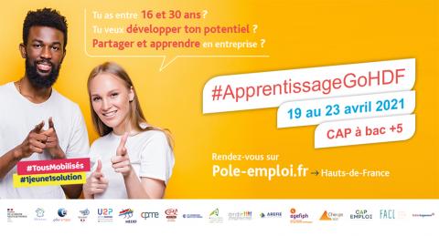 Hauts-de-France : Action Logement participe à la Semaine de l'Apprentissage du 19 au 23 avril 2021