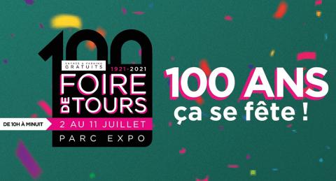 Centre-Val de Loire : rendez-vous à la Foire de Tours du 2 au 11 juillet 2021 !