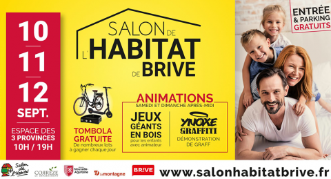 Nouvelle-Aquitaine : Action Logement présent au Salon de l'Habitat de Brive du 10 au 12 septembre