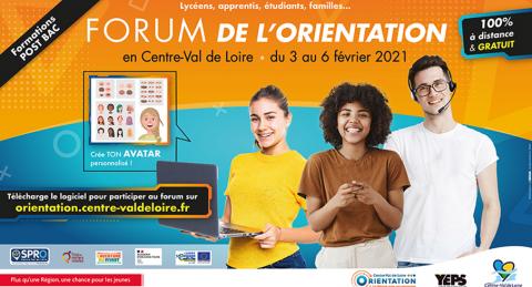 Centre-Val de Loire : Action Logement participe du 3 au 6 février au Forum virtuel de l'Orientation