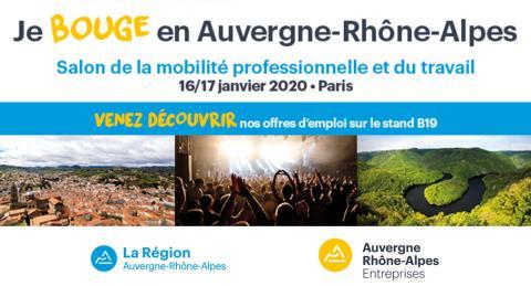 Action Logement présent au salon de la mobilité professionnelle et du travail à Paris