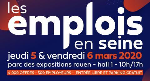 Action Logement présent au Salon EMPLOIS EN SEINE à Rouen les 5 et 6 mars