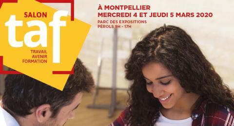 Action Logement présent au salon Travail Avenir Formation de Montpellier et Carcassonne