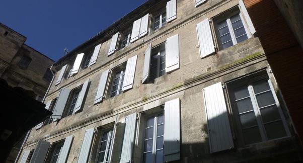 Réhabilitation d'un immeuble en milieu protégé - façade