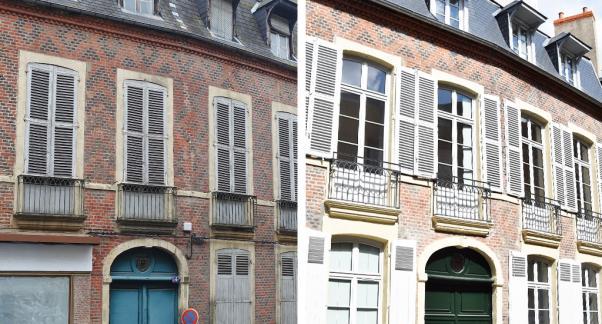Moulins : Acquisition amélioration de 12 logements, bâtisse du 18e siècle. Evoléa - Crédit : Evolea