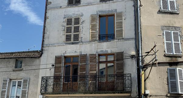 Etat existant, rue des chapelles, Issoire