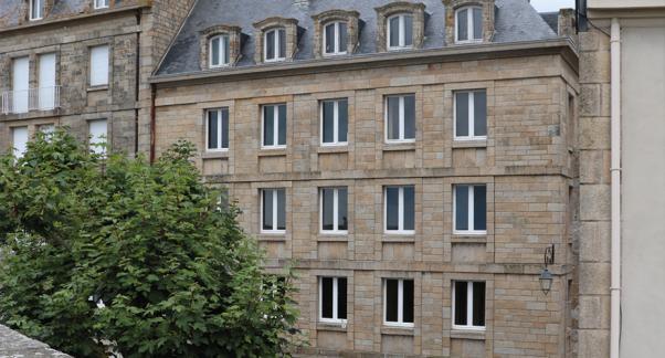 Faciliter la création de logement social en centre-ville - façade