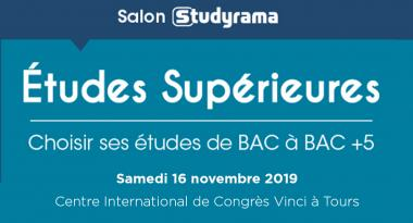 Centre-Val de Loire : Action Logement présent à Tours au salon Studyrama des Etudes supérieures