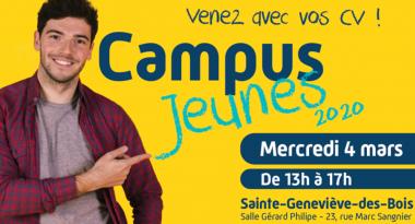 Action Logement présent au salon « Campus jeunes 2020 » à Sainte-Geneviève-des-Bois (91) le 4 mars