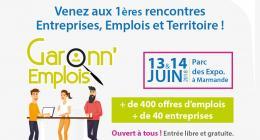 Affiche Garonn'emploi Juin 2018