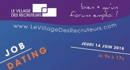 Village Recruteurs Affiche Juin 2018