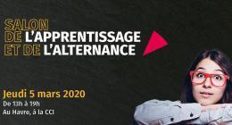 rendez-vous au Salon de l'Apprentissage le 5 mars au Havre